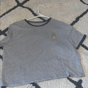 gray pineapple top from aeropostale